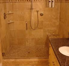 Plastic For Shower Wall by Bathroom Shower Pics Blue Painted Wall Brick Exposed Half Wall