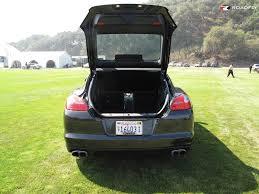 porsche panamera trunk 2010 porsche panamera rewriting the luxury car book