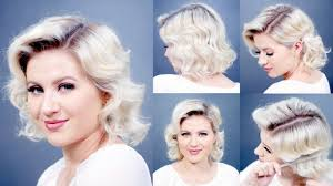 old fashioned short hair how to retro finger waves short hairstyles milabu youtube