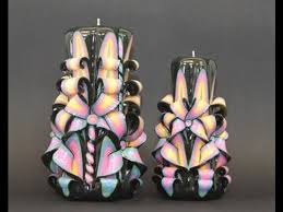 colorful designer how to make colorful designer candles youtube