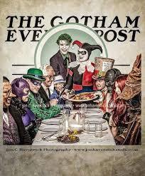 gotham batman villains thanksgiving dinner by all on
