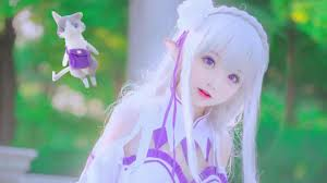 subaru and emilia cosplay emila cosplay sets you unbelievable anime cosplay