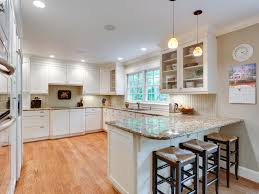 traditional kitchen with flush u0026 complex granite counters in