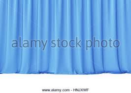 Blue Silk Curtains Blue Velvet Stage Curtains Scarlet Theatre Drapery Silk