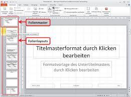 powerpoint design zuweisen pceinsteiger folienmaster erstellen und zuweisen