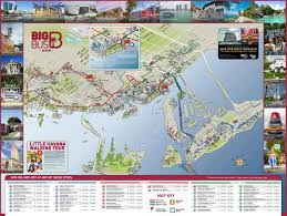 Chicago Attraction Map by Miami Tourist Attractions Map