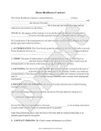 party planner contract template sample home health care contract form template forms pinterest sample home health care contract form template