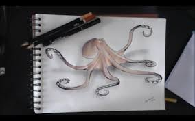 drawing an octopus youtube