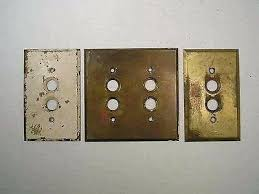 old push button light switches push button light switch cover antique brass push button light
