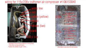 craftsman air compressor wiring diagram wiring diagrams