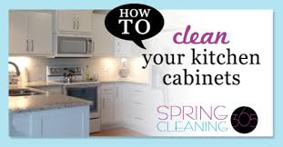 How To Clean Kitchen Cabinets How To Deep Clean Kitchen Cabinets Spring Cleaning 365