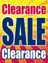 window sign clearance sale signs4retail