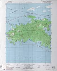 map of st u s islands topographic maps perry castañeda map