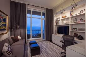 home office with tv 20 small tv rooms that balance style with functionality tvs