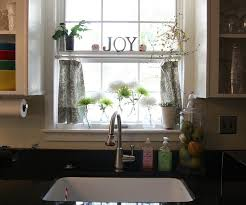 Kitchen Curtains Modern Peachy Ideas Kitchen Curtains Over Sink The Curtains Modern