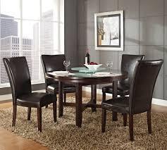 steve silver dining room sets steve silver hartford 5 piece round dining room set w brown