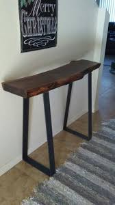 Walnut Sofa Table by Sofa Tables Figured Black Walnut Lumber Live Edge Furniture