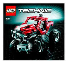 rally truck 8261 lego technic building instructions lego