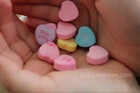 necco sweethearts sweethearts color your own boxes candy valentines giveaway girl