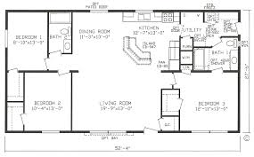 Jacobsen Mobile Home Floor Plans by Plans House Floor Plans Home Blueprints Single Wide Mobile Homes 3