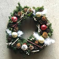 a beautiful harry potter themed wreath made to order on a