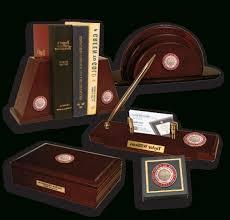 Customized Desk Accessories Insignia Desk Accessories Church Hill Classics With Regard To