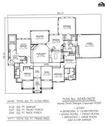 1 story 4 bedroom 3 5 bathroom dining room family house plans with