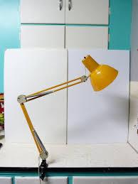 vintage luxo clamp on desk lamp studio lamp drafting lamp artist