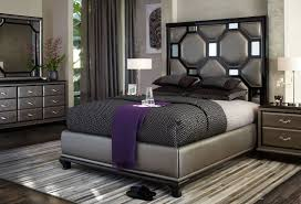 Torino Bedroom Furniture Furniture Wonderful Bed With Unique Headboard By Aico Furniture