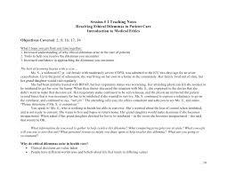 medical ethics curriculum final 20 nov06