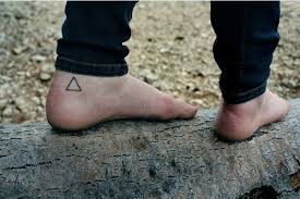 small hipster triangle tattoo for girls photo 1 2017 real photo
