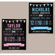 personalized canvas wall art walmart com personalized birth information chalkboard art canvas