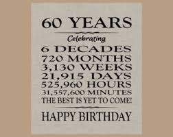 celebrating 60 years birthday 60th birthday gift 60th birthday gifts for women poster