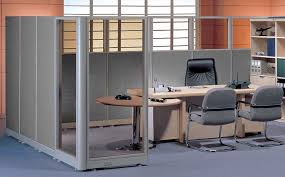 Partition Furniture Furniture Outlet Half Glass Half Fabric Partitions Cubicles
