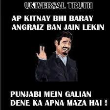 Meme Punjabi - these 7 punjabi cuss words are damn hilarious tell me nothing