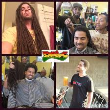 hairstyles after dreadlocks no more locs dan brown the barber s first haircut in 14 years