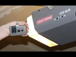 Sear Garage Door Opener Remote by How To Program Craftsman Garage Door Opener Remote Diy 1 2 Hp And