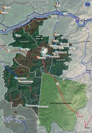 Portland Bike Maps by Hood National Forest Mountain Bike And Hiking Trails