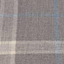 Grey Plaid Curtains Plaidcheck Curtains Grey Closeup Gray Plaid Curtain Fabric