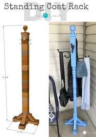 standing coat rack my love 2 create