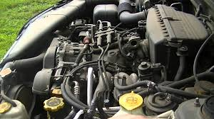 1992 subaru loyale engine how to fix subaru baja idle speed youtube