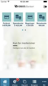 obos banken im app store - Obos Im App Store