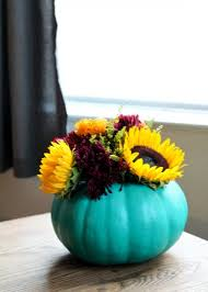 Cool Vase Cool Diy Pumpkin Vase Centerpiece Shelterness