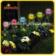 tulip solar path lights led solar light of tulip for garden decorations wholesale solar