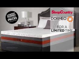 dormeo sale lowest prices ever at sleep coutry canada youtube