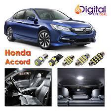 Honda Accord 2003 Interior 12x White Interior Led Lights Package Kit For 2003 2010 2011