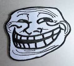 Cool Face Meme - trollface iron on patch problem u mad cool troll face 4chan
