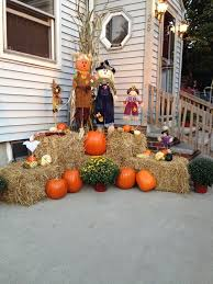 fall outdoor decorations outdoor fall decorations image landscaping backyards ideas