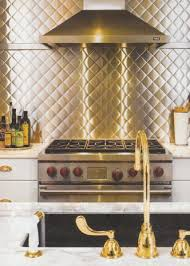 stainless steel backsplash contemporary kitchen traditional home