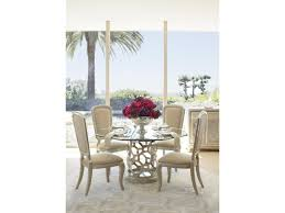 michael amini after eight casual dining room group dunk u0026 bright